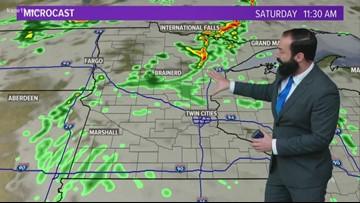Evening weather forecast 9-20-19