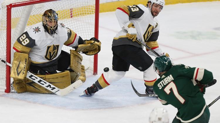 Eriksson Ek gets 2 goals as Wild chase Fleury, top Vegas 4-3