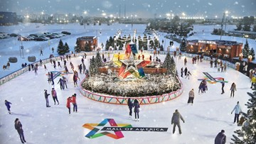 Mall of America's new skating rink open for business