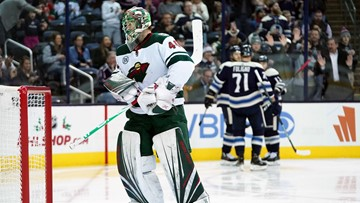 Wild lose second straight, fall to Columbus 4-2