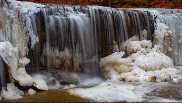 That's So Minnesota: Waterfall at Nerstrand Big Woods State Park