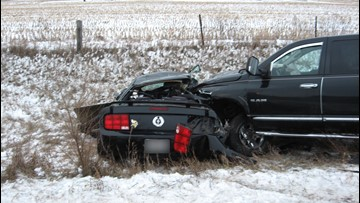 Road conditions tied to fatal crash in western WI