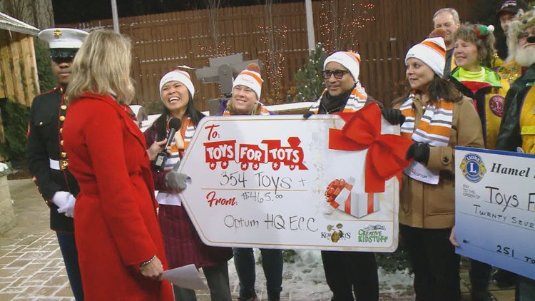 Toys for Tots appearances on KARE 2018