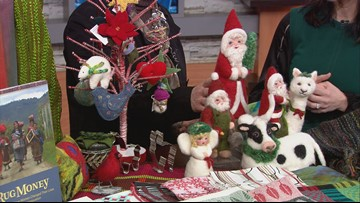 Textile Center's holiday shop opens