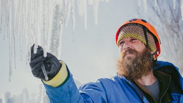 Ice artisans begin crafting Ice Castles in Excelsior