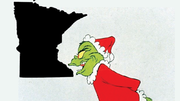 Minnesota given Grinch status in Christmas spirit ranking