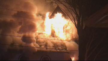 Fire ravages historic church in Norwood Young America