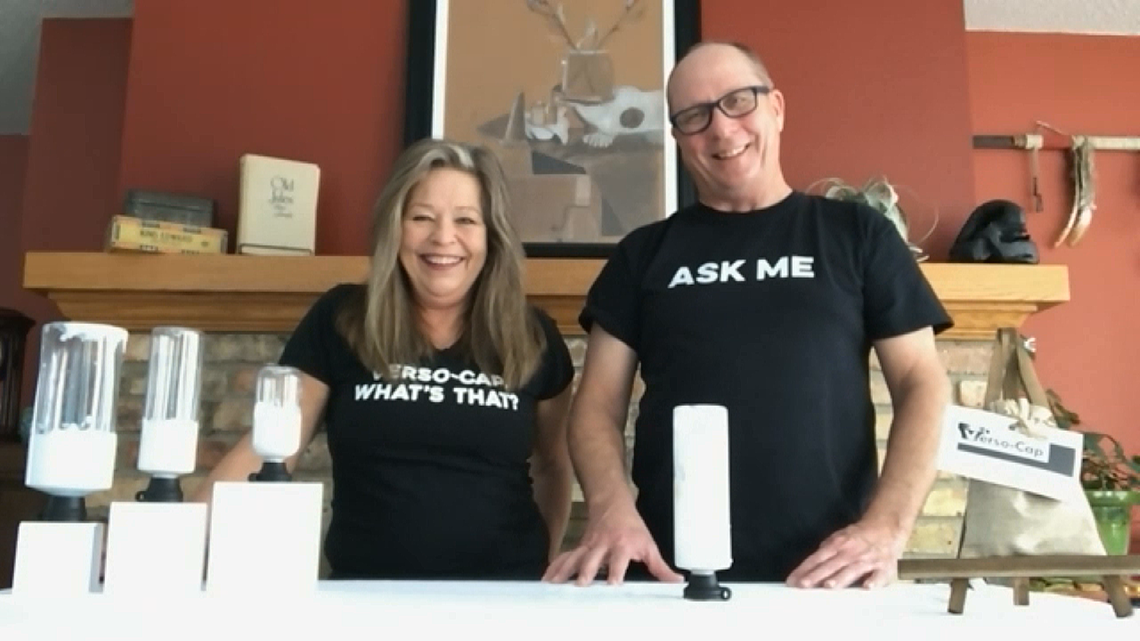 Willmar couple invents 'Verso-Cap' to reduce waste