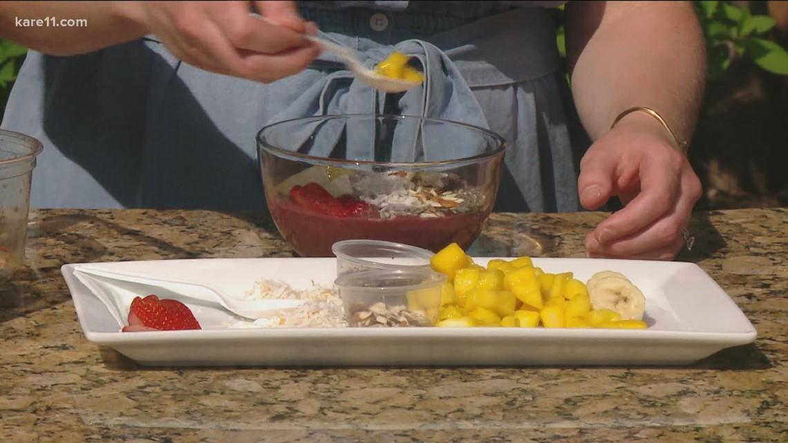 RECIPE: Strawberry Banana Acai Bowl