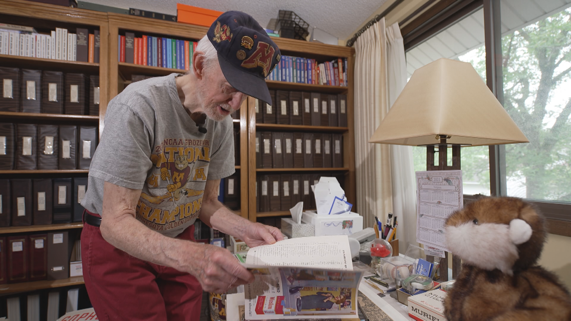 U of M alum collects more than half a century's worth of sports programs, clippings