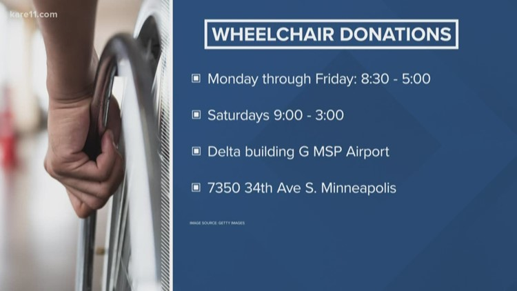 Have an old wheelchair? They need them