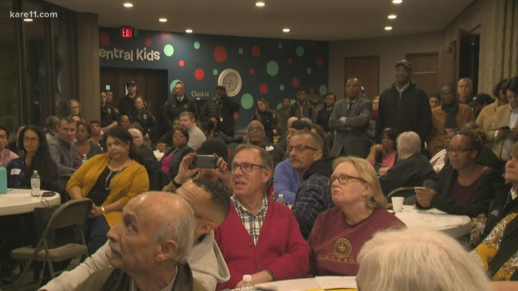 People pack meeting in St. Paul to talk about city's gun violence