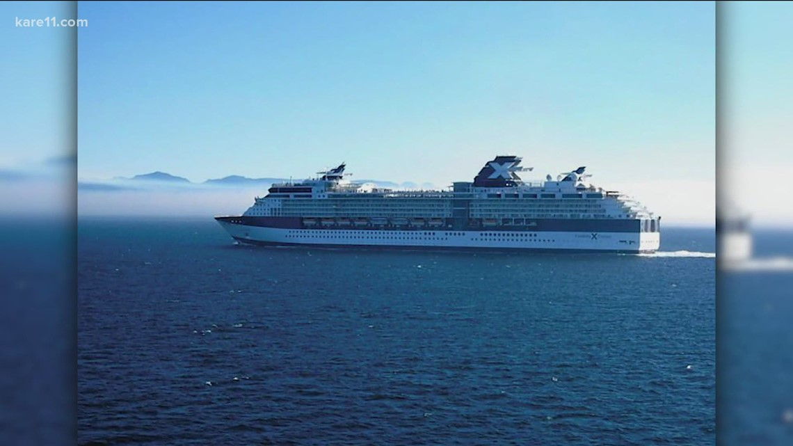 Two vaccinated cruise ship passenger test positive for COVID