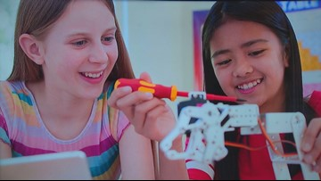 STEPS Camp: Girls explore science, tech, engineering and more