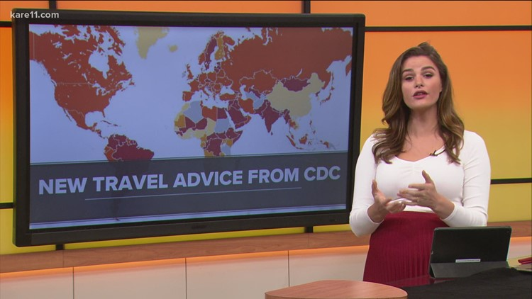 CDC issues new recommendations for international travel