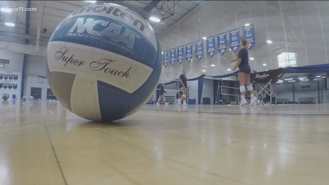 Concordia-St. Paul Golden Bears ready to hit the volleyball court