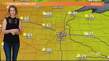 Midday weather 8-19-2019