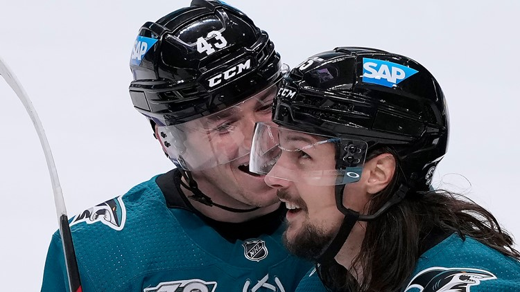 Karlsson leads Sharks to 4-3 shootout win over Wild
