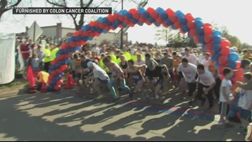 'Get Your Rear In Gear' to raise colon cancer awareness