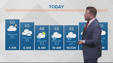 Morning weather forecast 4-17-2019