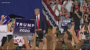 "Digital Dive: ""Send her back"" chant targets Rep. Omar at Trump rally"