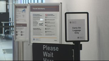 Hotel security checkpoint closed at MSP Airport