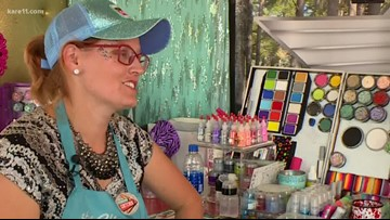 Glitter Glamper brings sparkle to the Minnesota State Fair