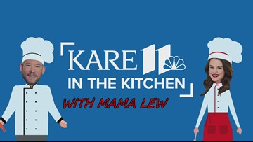 KARE in the Kitchen: Mama Lew's Buttermilk Belgian Waffles