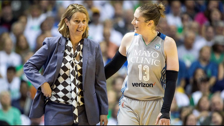 The program's association with the Minnesota Lynx and Coach Cheryl Reeve will help Lindsay Whalen in a number of ways.
