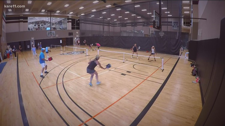 Pickleball picks up popularity at a feverish pace