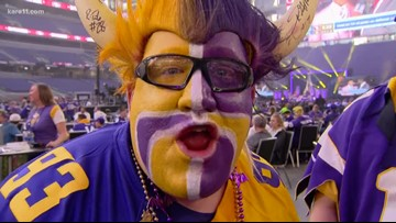 Vikings fans out of their minds about draft, 2019-20 season
