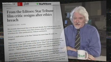 Local film critic resigns after newspaper discovers plagiarism