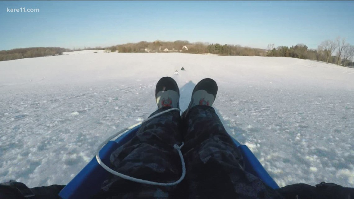 Hitting the Trails: Sledding