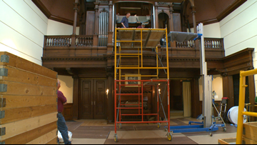 Restoring James J  Hill House's historic pipe organ | kare11 com