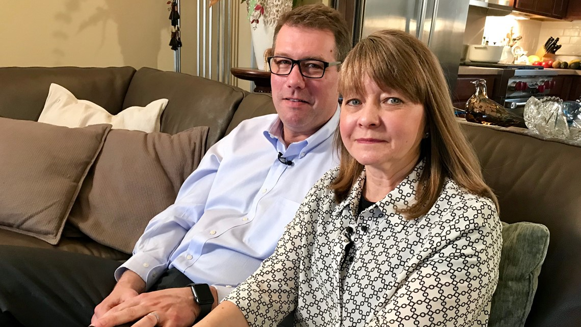 Wife's life saved by medical device her husband helped design
