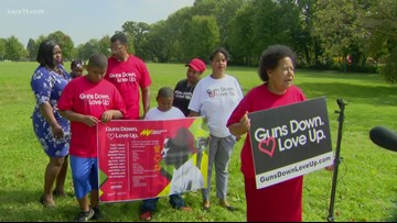 Families impacted by gun violence start campaign