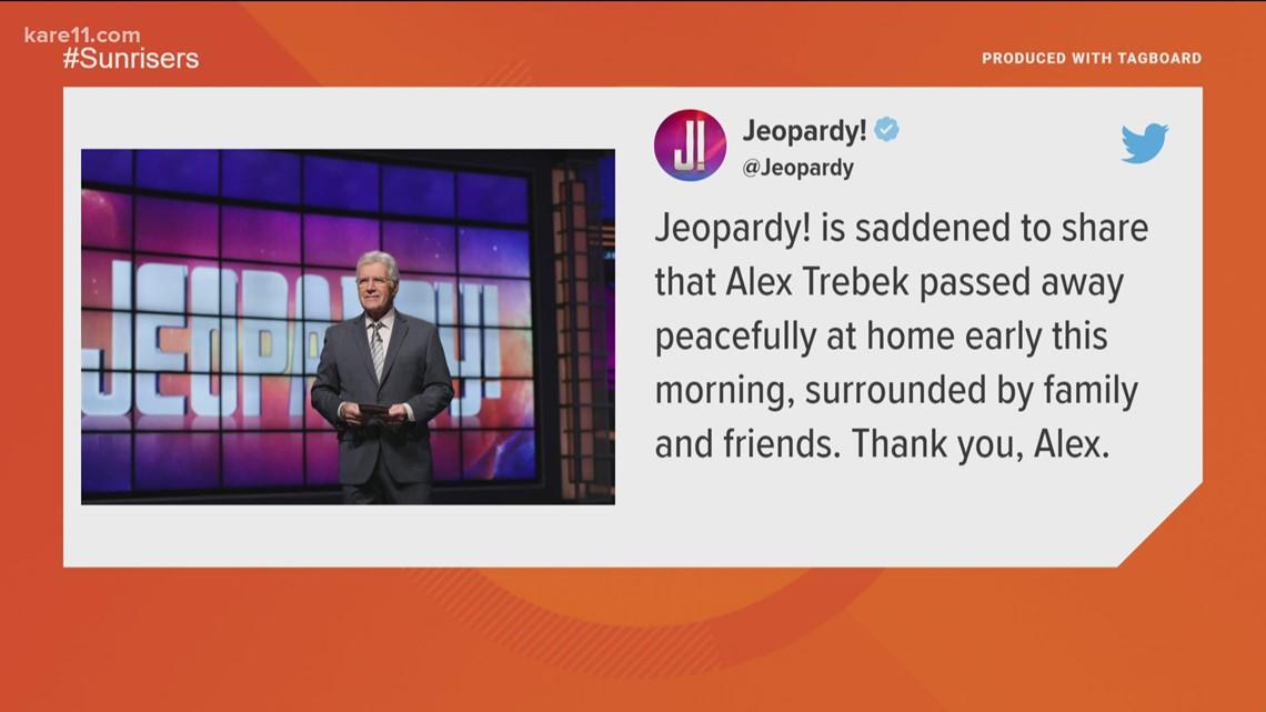 Jeopardy! fans mourn Alex Trebek