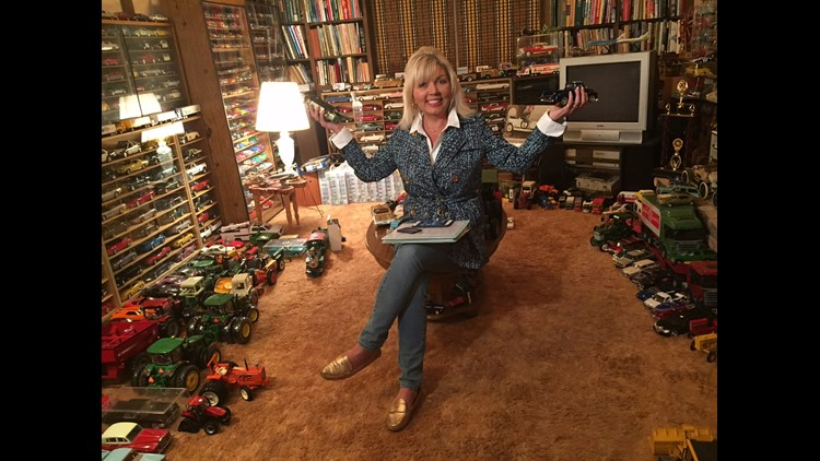 Lisa Lundstrom is overseeing the sale of Dennis Erickson's cars.