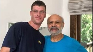 Mover randomly meets surgeon who saved his life