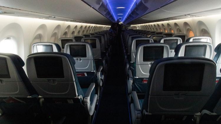 Delta A220 cabin