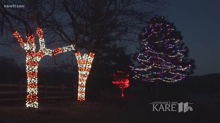 solar powered christmas light displays
