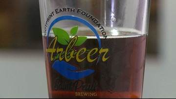 'Arbeer': Brewery, nonprofit create beer for a cause