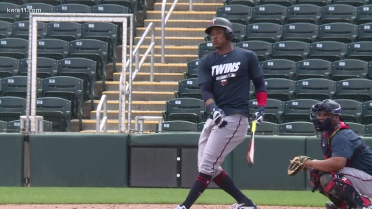 Twins getting ready for first game