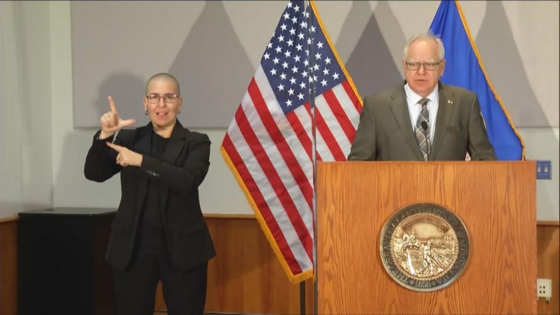 Walz announces Minnesota will shorten COVID-19 quarantine to align with CDC