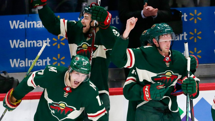 Staal scores in overtime to give Wild 3-2 win over Jets