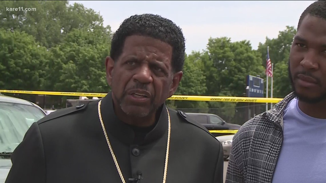 Violence erupts outside funeral in north Minneapolis