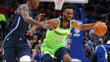 Powell, Brunson hit season highs, Mavs top Wolves
