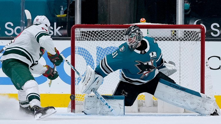 Wild clinch playoffs with win over Sharks