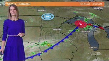 Late morning weather 6-18-2019