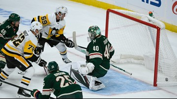 Winless Wild whipped by Penguins 7-4